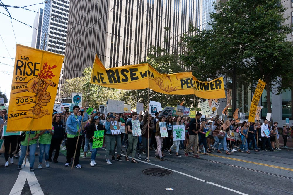 RiseForClimRise for Climate Change,  San Francisco, 9-8-2018